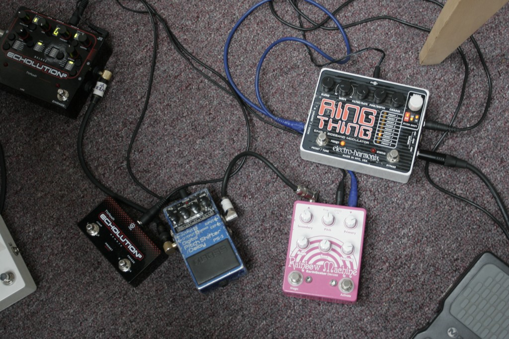 The pedals