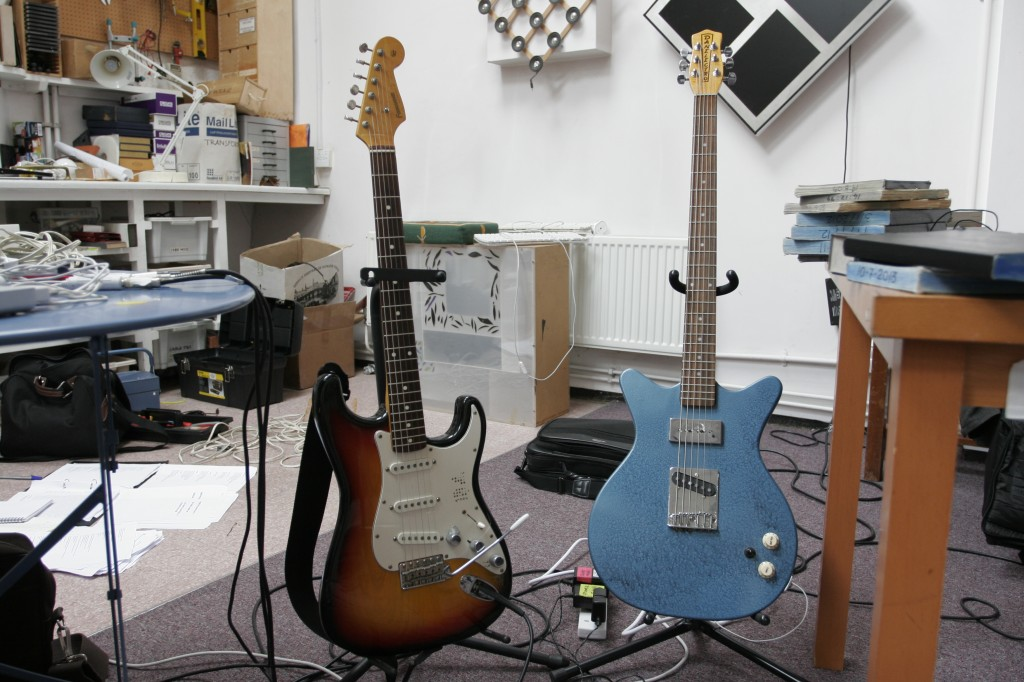 Karl's guitars